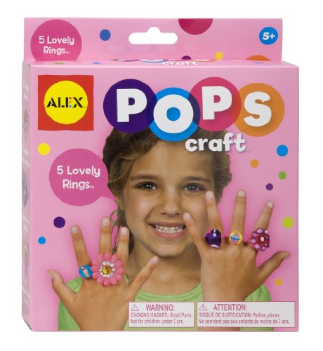 ALEX Toys POPS Craft 5 Lovely Rings - 1