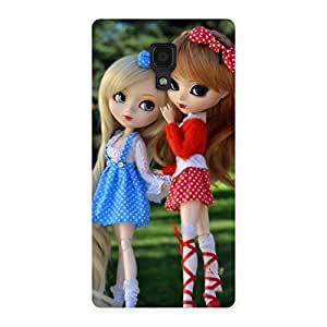 Delighted Sister Doll Multicolor Back Case Cover for Redmi 1S
