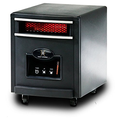 Heat Storm HS-1000-IMO Mojave Infrared Heater, Black