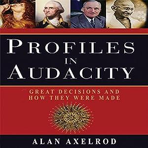 Profiles in Audacity Audiobook