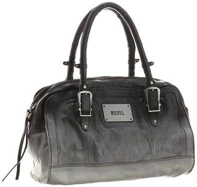 diesel she the warrior script handbag sac main femme noir v 6 chaussures et sacs. Black Bedroom Furniture Sets. Home Design Ideas