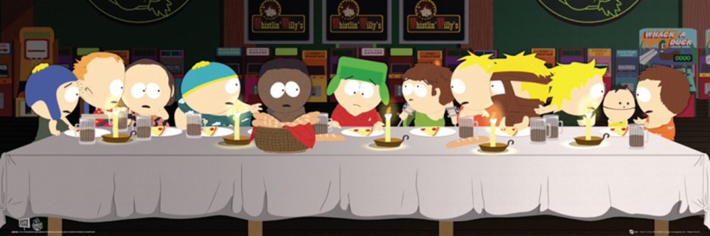 Last Supper South Park Poster