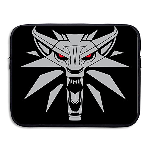 Custom Funny Wolf Head Water-resistant Laptop Sleeve Case Bag 13 Inch (Crock Skin compare prices)