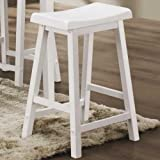 Backless Wooden Bar Stool - Coaster 180159N by Coaster Home Furnishings