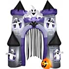 Halloween Airblown Inflatable 9' Tall Haunted Castle Archway Outdoor Yard Decoration-On Sale Until 7-20