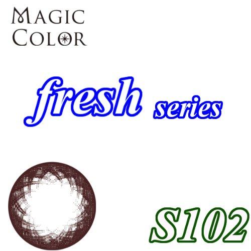 MAGICCOLOR (マジックカラー) fresh S102 度なし 14.5mm 1ヵ月使用 2枚入り