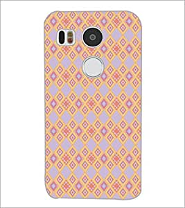 PrintDhaba Pattern D-5166 Back Case Cover for LG NEXUS 5X (Multi-Coloured)