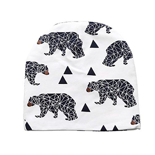 b64acde43 CHENGYANG Bebés Niños Lindo Casquillo de algodón Animal Print Diseños  Sombrero
