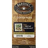 Baronet Coffee Decaf Hazelnut, 18-Count Coffee Pods (Pack of 3)