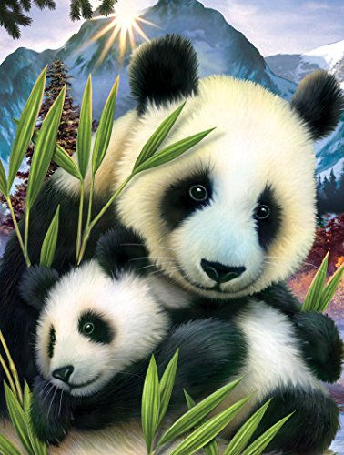 Panda and Cub a 300-Piece Jigsaw Puzzle by Sunsout Inc.