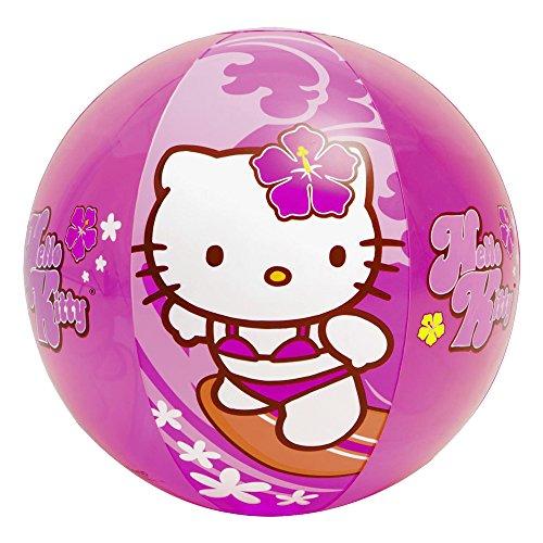 Bricobravo - Pallone Da Mare Spiaggia Piscina 51Cm Hello Kitty Gioco Bambini 3+ 18635H