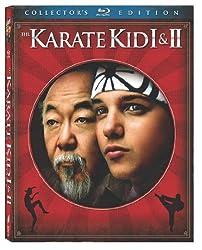 Karate Kid 1 & 2 (Double Feature, 2 discs) Bilingual [Blu-ray]