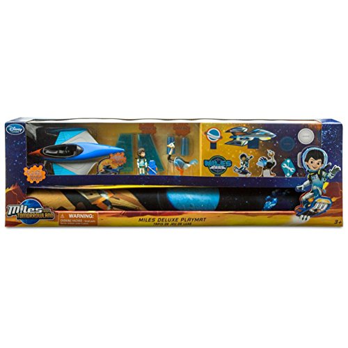 Disney Junior Miles From Tomorrowland 5 Piece Deluxe Playmat Playset with Action Figures