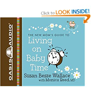 amazoncom living on baby time new momsu002639 guides 9781598594867 baby time with mom 300x300