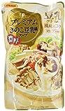 日本食研 プレミアムきのこ豆乳鍋スープ 720g×2個