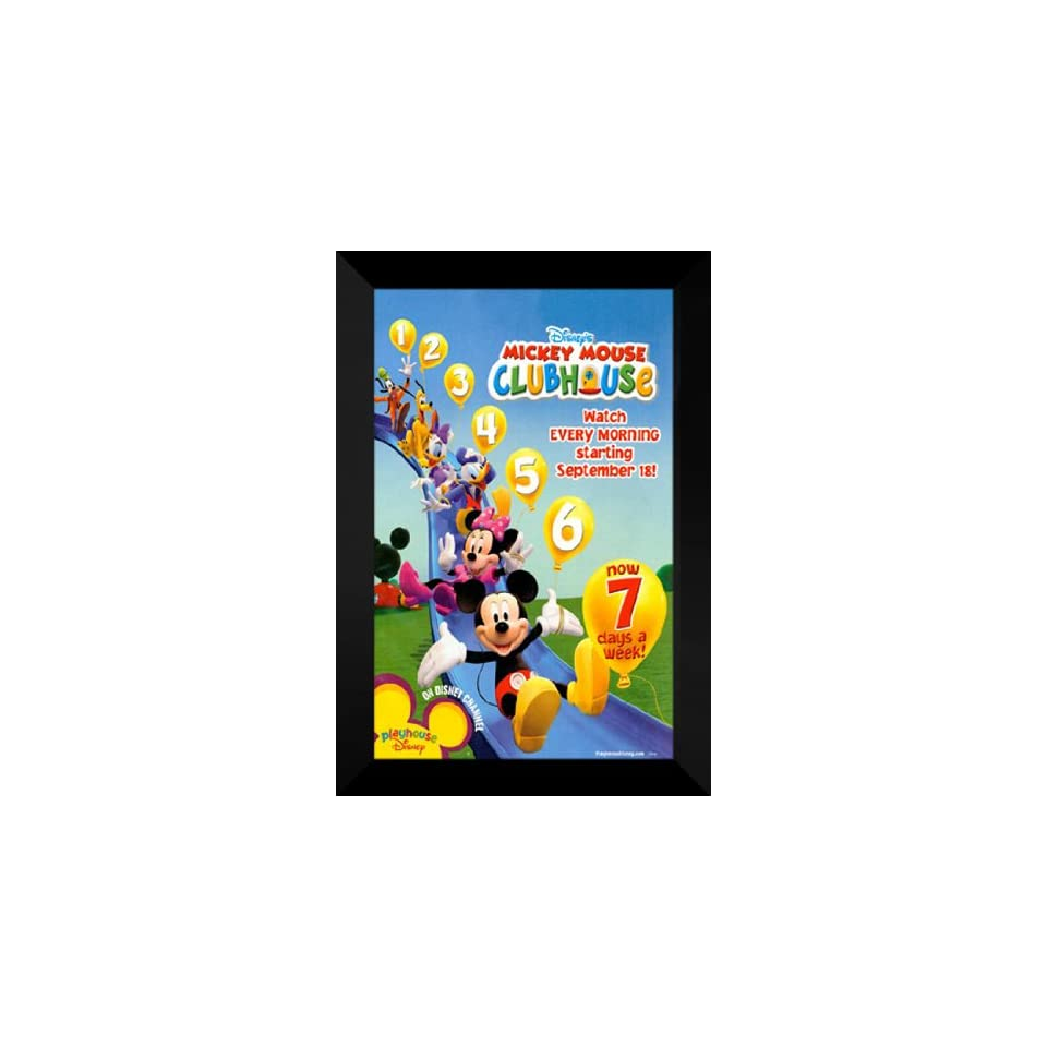 abf9a9606e3 Mickey Mouse Clubhouse 27x40 FRAMED TV Poster Style A on PopScreen