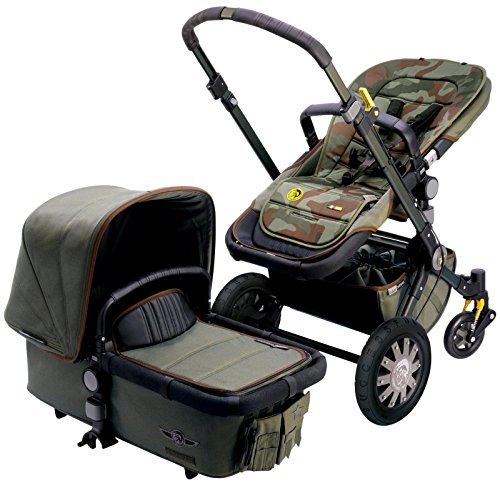 Bugaboo Cameleon3 Complete Stroller - Diesel Camouflage (Special Edition) - 1