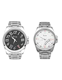 Veens Multicolor Dial Combo Pack Of 2 Boys/Gents/Mens Wrist Watch DW1087 Za