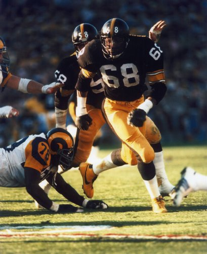 L.C. GREENWOOD PITTSBURGH STEELERS 8X10 SPORTS ACTION PHOTO (F) at Amazon.com
