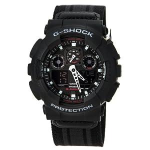0393b759f2d55 G-Shock GA-100MC Cloth Band Classic Series Men's Luxury Watch - Blue ...