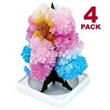 Magic Growing Crystal Tree 4 Pack
