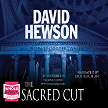 The Sacred Cut: The Rome Series: Book 3 (       UNABRIDGED) by David Hewson Narrated by Saul Reichlin
