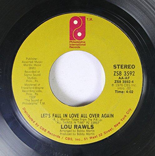 Lou Rawls - Lou Rawls 45 Rpm Let