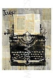 Typewriter By Loui Jover Art Print Poster 19\