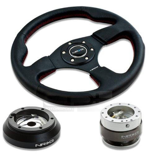 350mm Blue Deep Dish Steering Wheel /& Hub Adapter For Acura RSX 2002-2006