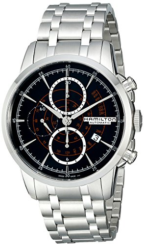 Hamilton-Mens-H40656131-Timeless-Class-Stainless-Steel-Bracelet-Watch