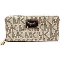 Michael Kors Mk Logo Zip Around Wallet