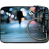 Snoogg Bicycles Digital Art 13 To 13.6 Inch Laptop Netbook Notebook Slipcase Sleeve