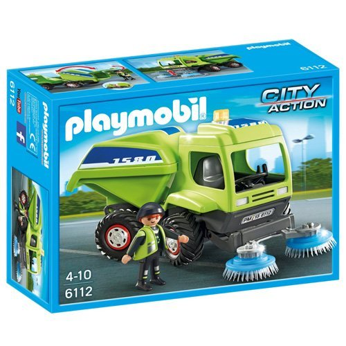PLAYMOBIL Street Cleaner Playset (Street Sweeper Truck compare prices)