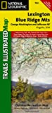 Lexington, Blue Ridge Mts [George Washington and Jefferson National Forests] (National Geographic: Trails Illustrated Map #789) (National Geographic Maps: Trails Illustrated)