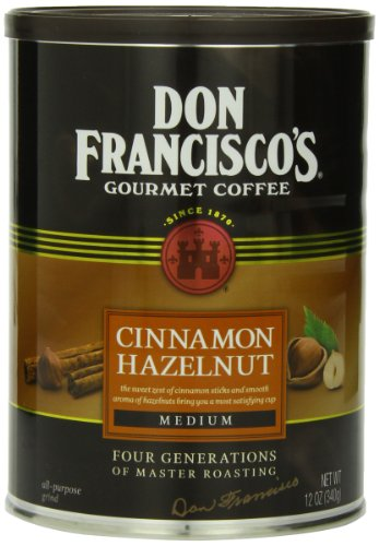 Don Francisco Cinnamon Hazelnut Coffee, 12 Ounce