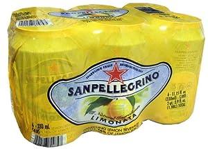 San Pellegrino Limonata, 6 Pack - 11.15 Ounce Cans