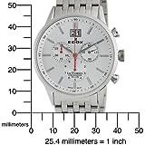 Edox Men's 10011 3A AIN Les Vauberts Chronograph Watch