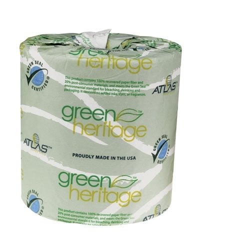 Atlas Paper Mills 280GREEN Green Heritage Bathroom Tissue 2-