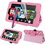 Fire HD 6 Tablet (2014 Oct Release) Case - Auto Sleep / Wake Leather Case Pouch for Amazon Kindle Fire HD 6