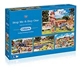 Gibsons Stop Me and Buy One Jigsaw Puzzles (4x500 Pieces)