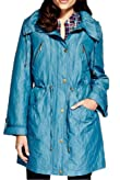 Detachable Hood Padded Mac with Stormwear� [T62-3717J-S]