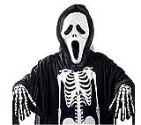QC.HRD ハロウィン 死神 ホラー コスチューム ( マスク & 衣装 ) 男女共用 フリーサイズ