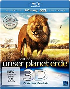 Best of Unser Planet Erde 3D - Fühle das Erlebnis [3D Blu-ray]