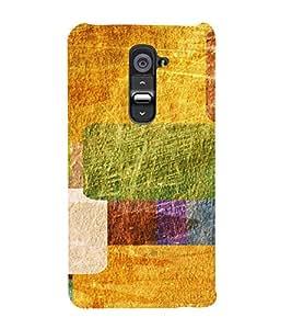 PrintVisa Modern Art Pattern 3D Hard Polycarbonate Designer Back Case Cover for LG G2