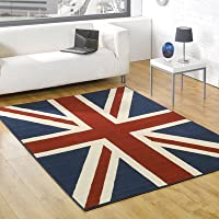 Union Jack Rug - Red Blue & Cream - Ideal For Bedrooms - Weddings - Childrens Kid Rooms - 80 x 150cm from Modern Style Rugs