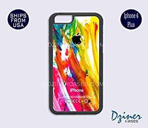 iPhone 6/6S Plus Case - Colorful Paint iPhone Cover