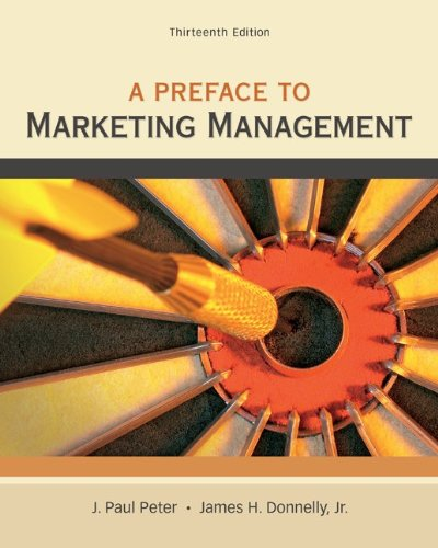 Preface to Marketing Management