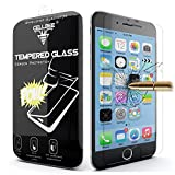 iPhone 6 Screen Protector, CellBee® [Shielding Gladiator] iPhone 6 4.7 Inch Premium High Definition Shockproof Clear Tempered Glass Screen Protector 0.3mm Thickness 2.5D Curved Edge for iPhone 6 4.7 Inch