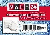 M&H-24 Schwingungsdämpfer Vibrationsdämpfer Antivibrationsmatte, für Waschmaschinen & Trockner