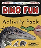Roger Priddy Dino Fun Activity Pack [With Stickers and Crayons and Wipe Clean Pen and Wipe Clean, Coloring, & Sticker Activity Books]